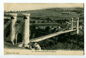 CPA 74 Haute-Savoie Pont de la Caille