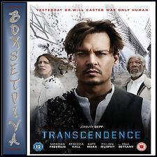TRANSCENDENCE - Johnny Depp  **BRAND NEW DVD**