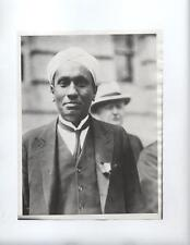 1931 India Physicist Sir CV Raman Nobel Prize press photo rare scattering Madras