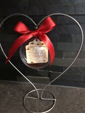 Letter To our Baby boy girl twins. Bauble Christmas Tree Hanging New Baby