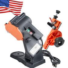 Portable Electric Chain Saw Sharpener Bench Grinder Chainsaw Grinder Bench Mount