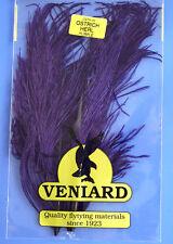 Straußenfeder Ostrich Teilstück aus Prachtfeder Fiberlänge 10 - 15 cm PURPLE