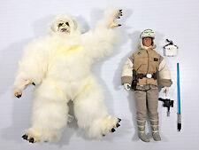 "STAR WARS COLLECTOR SERIES 12""  Luke Skywalker Vs The Wampa Kenner 1997 Loose"