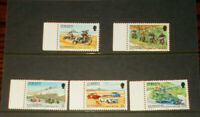 JERSEY MINT STAMPS 24.7.1980 60TH ANNIV OF JERSEY MOTORCYCLE & LIGHT (LEFT SELV)