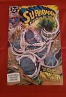 Superman the Man of Steel 18 ~KEY~ 1st full appearance of Doomsday DC 1992 NM