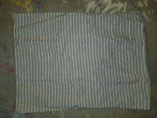 "West Elm ""Stripes - Gray"" Linen Standard Sham"