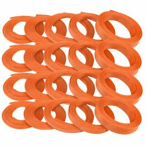 "3/8"" Orange Engine & Harness Wire Loom - 200 Feet v8 muscle car hot truck street"