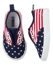 Gymboree Star Spangled Days USA Flag Shoes Sneakers Nwt Boys Size 9