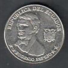Circulated Ecuador 10 Centavos Coin - 2000