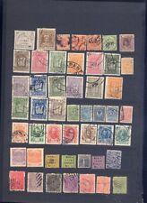 sehr alte exotische Briefmarken auf A4 Steckkarte weltweit 5