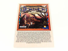 Dominion Dark Ages Replacement Original Game Rules Instruction Booklet