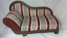 American Heirloom Collection Girl Doll Chaise Lounge Fainting Couch Sofa