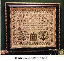 True Virtue Cross Stitch/Needlework Pattern Only - Yd Wuv