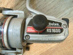 "Daiwa RS1600 spinning reel sliver used ""Work"""