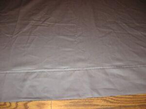 NMK Textile Mills Dark Gray Sateen 100% Cotton Flat Sheet - Queen