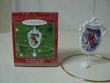 Hallmark Ornament 2000 OUR CHRISTMAS TOGETHER Couple Iceskating Christmas