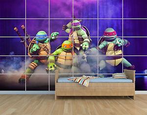 New Teenage Mutant Ninja Turtles Ninja Turtle Tmnt Poster Child Room Kids