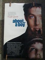 One Sheet Movie Poster Original Rolled About A Boy Starring Grant  #114,115,116