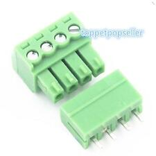 10Pcs KF2EDG 4P Straight Plug-in Screw Terminal Block Connector 3.81MM Pitch
