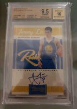 2010-11 Panini Classics/699 #179 Jeremy Lin On Card Auto Rookie Card RC BGS 9.5