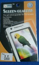 5 packets of mobile phone screen protector for S E G900