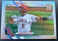 Albert Pujols 2021 TOPPS SERIES 1 RAINBOW FOIL PARALLEL #178 LOS ANGELES ANGELS