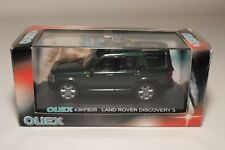 * CARARAMA OLIEX LAND ROVER DISCOVERY 3 METALLIC GREEN MINT BOXED
