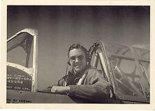Foto seconda guerra mondiale - Pilota con aereo non identificato - 2 - 1944