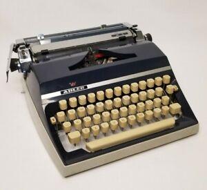 Vintage Adler J5 Portable Typewriter & Case West Germany Serial # 15538199