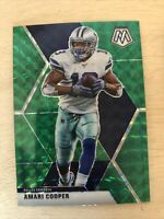 2020 Panini Mosaic Green Prizm Amari Cooper Dallas Cowboys No.59