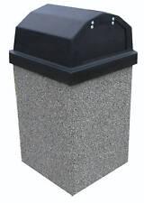 Concrete Litter Receptacle