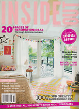 INSIDE OUT AUSTRALIAN MAGAZINE NOV/DEC 2012, SPECIAL 100th ISSUE,LETS GO OUTSIDE
