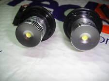 ►2X BMW E53 X5 5er E60+E63+E65 LED 8000K mit original Scheinwerfer und Angle eye