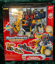 Transformers Energon Omega Supreme BY HASBRO New Sealed
