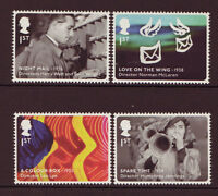 GREAT BRITAIN 2014 GREAT BRITISH FILM SET OF 4 EX MINIATURE SHEET,UM, MNH,