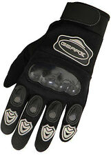 enfants MX gants motocross CARBONE Coque VTT Vélo Moto gants