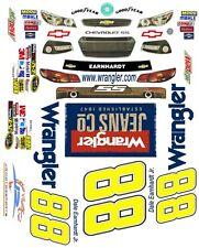 #88 Dale Earnhardt jr. Wrangler Jeans 2013 1/64th HO Scale Slot Car Decals