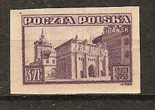 POLAND # 372 MNH Imperforated RECOVERY ACCESS TO GDANSK