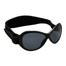Baby Banz Kidz Retro Sunglasses -Midnight  Black Ages 2-5  New