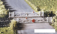 Ratio 234 Single or Double Track Level Crossing Kit  'N' Gauge Plastic Kit 1st P