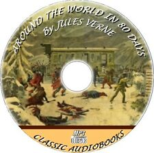 AROUND THE WORLD IN EIGHTY DAYS - MP3 CD AUDIOBOOK BY JULES VERNE UNABRIDGED NEW
