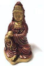 Kuan-Yin Buddhism Goddess Making a Blessing Altar Moon Goddess Statue Figurine