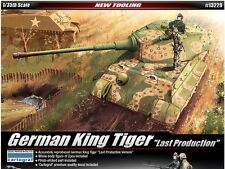 Academy 1/35 German King Tiger Last Production Plastic Model Kit Military 13229