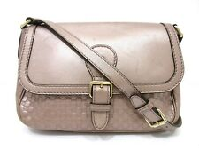 Authentic GUCCI Micro Guccissima Shoulder Bag 308452 Leather Pink 69983