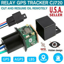 GPS Car Tracker Real Time Device Locator Remote Control Anti-theft Hidden 10-40V