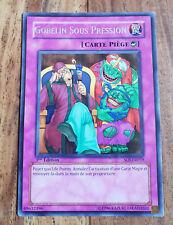 Carte Yu-Gi-Oh GOBELIN SOUS PRESSION SOI-FR059 1ère Edition Rare VF
