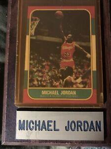 Michael Jordan rookie Card RP In Case On Plaque  $10 OBO