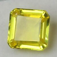 RARE Certified UNHEATED 9.50 Ct Natural CEYLON Yellow Sapphire Loose Gemstones