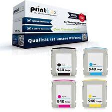 4x Cartuchos de tinta compatibles para HP Officejet pro8500a - COLOR serie