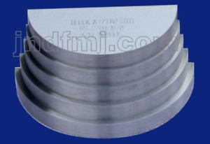 EAST A7 BLOCK for Ultrasonic Thickness 1018 STEEL TEST BLOCK
